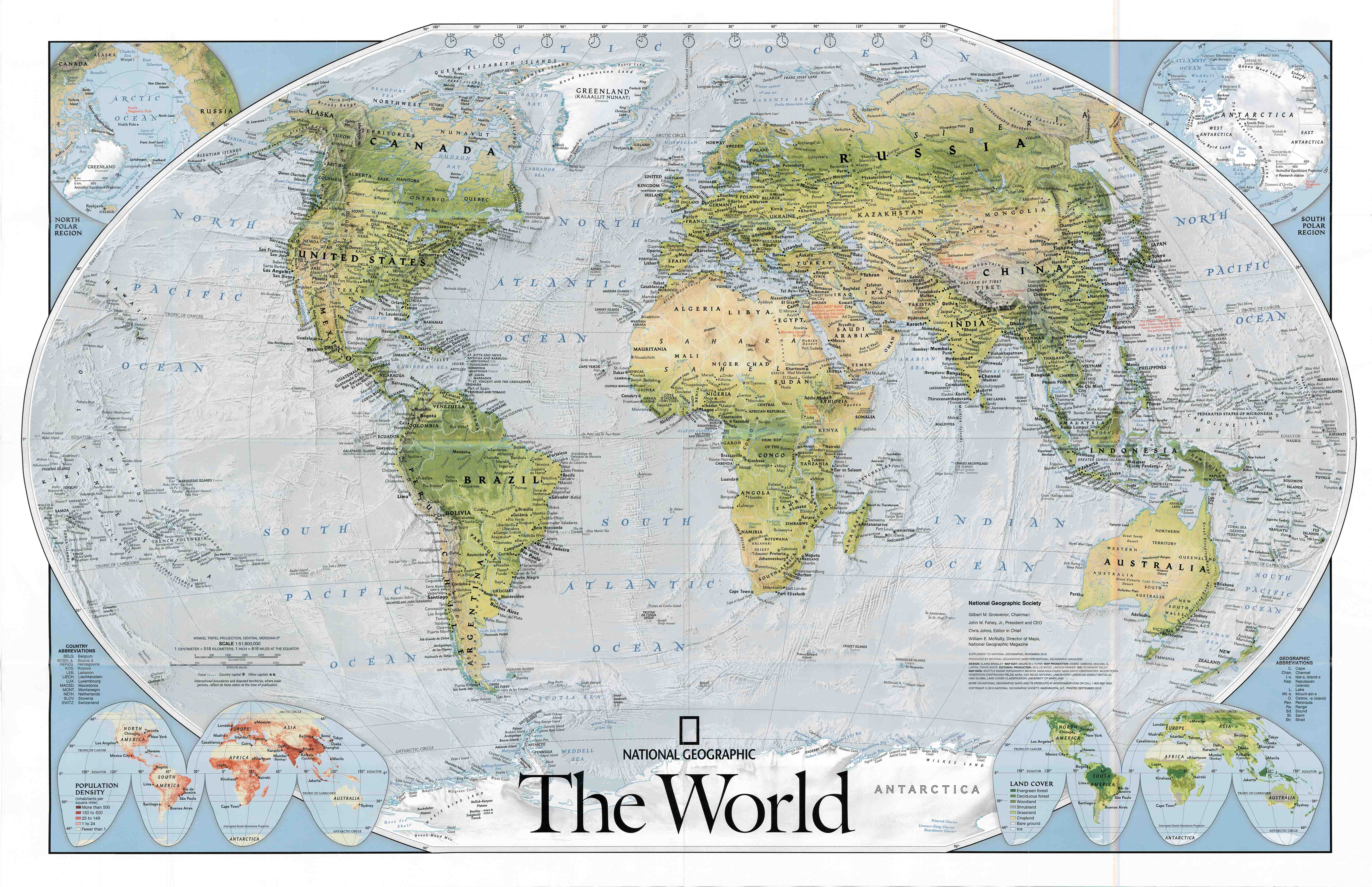 National geographic world map for ipad